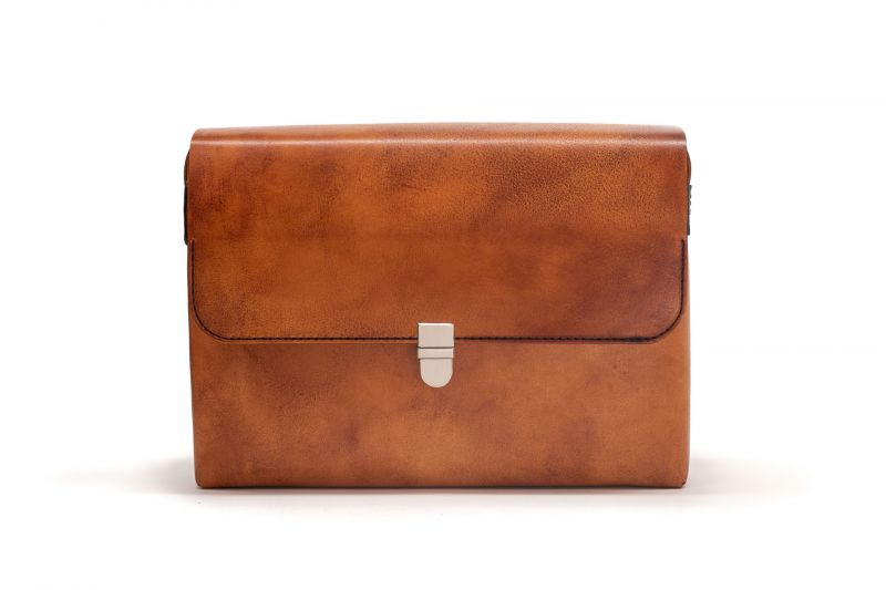 Vintage brown Ted briefcase